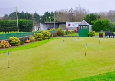 The Ian Colleran Newcastle West Driving Range offers an all weather, 7 bay, floodlit driving range is open all year round.
